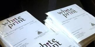 White Print Magazine
