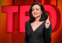 Sheryl Sandberg at TED