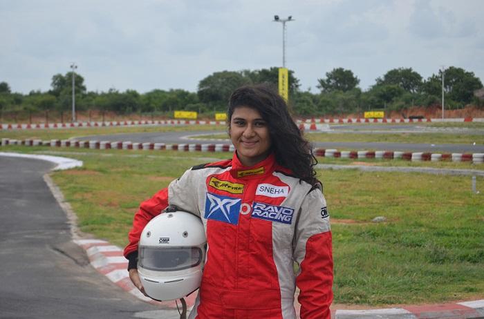 Sneha Sharma - Racer and a Pilot