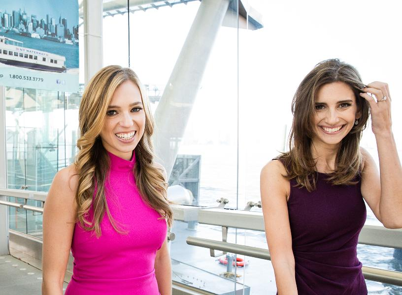 Danielle Weisberg and Carly Zakin: Co-founders of the theSkimm