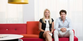 Natural Cycles co-founders Dr Elina Berglund and Dr Raoul Scherwitzl