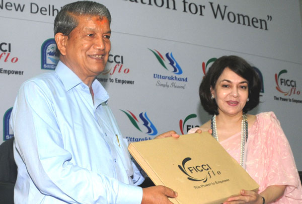 Harish Rawat announced the launch of India's first industrial park  for women entrepreneurs