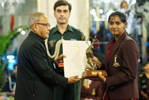 Deepika Kumari Arjuna Award